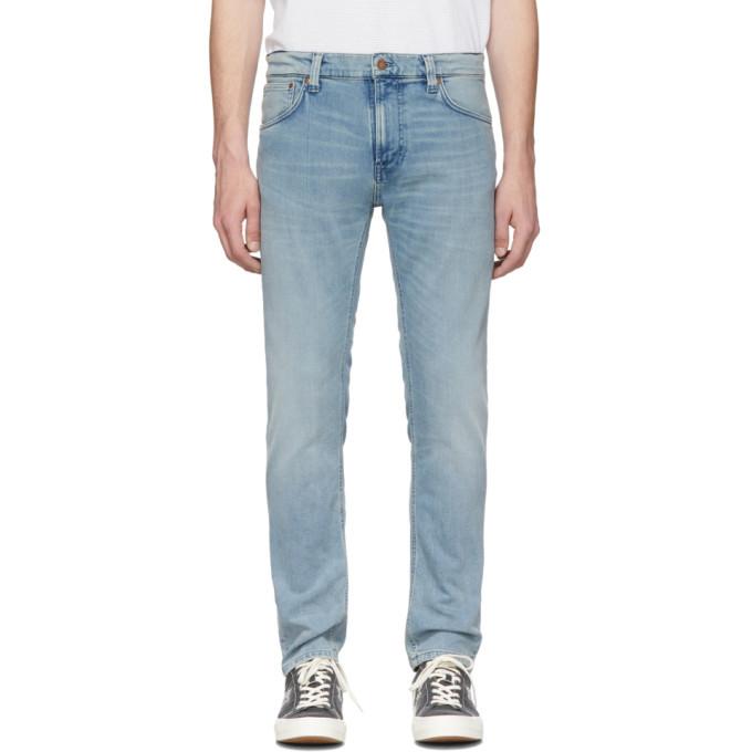 Photo: Nudie Jeans Indigo Thin Finn Jeans