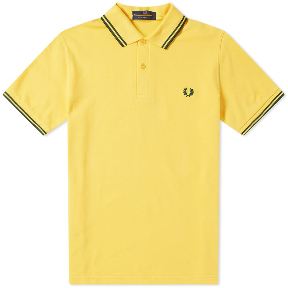 Photo: Fred Perry Original Twin Tipped Polo