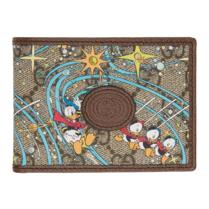 Photo: Gucci Multicolor Disney Edition GG Donald Duck Rocket Wallet