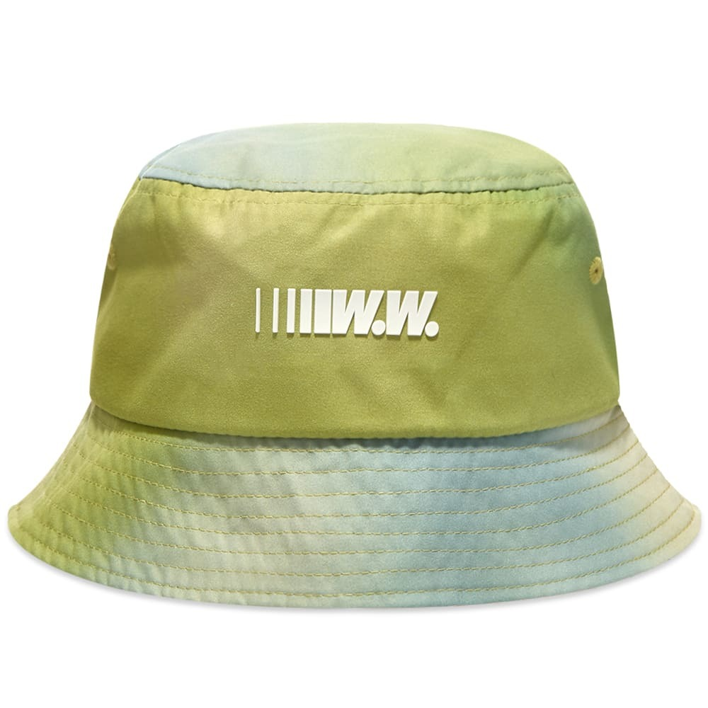 Wood Wood Fade Panel Speed Logo Bucket Hat