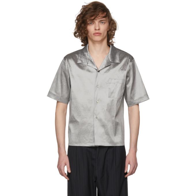 GmbH Silver Luka Bowling Shirt