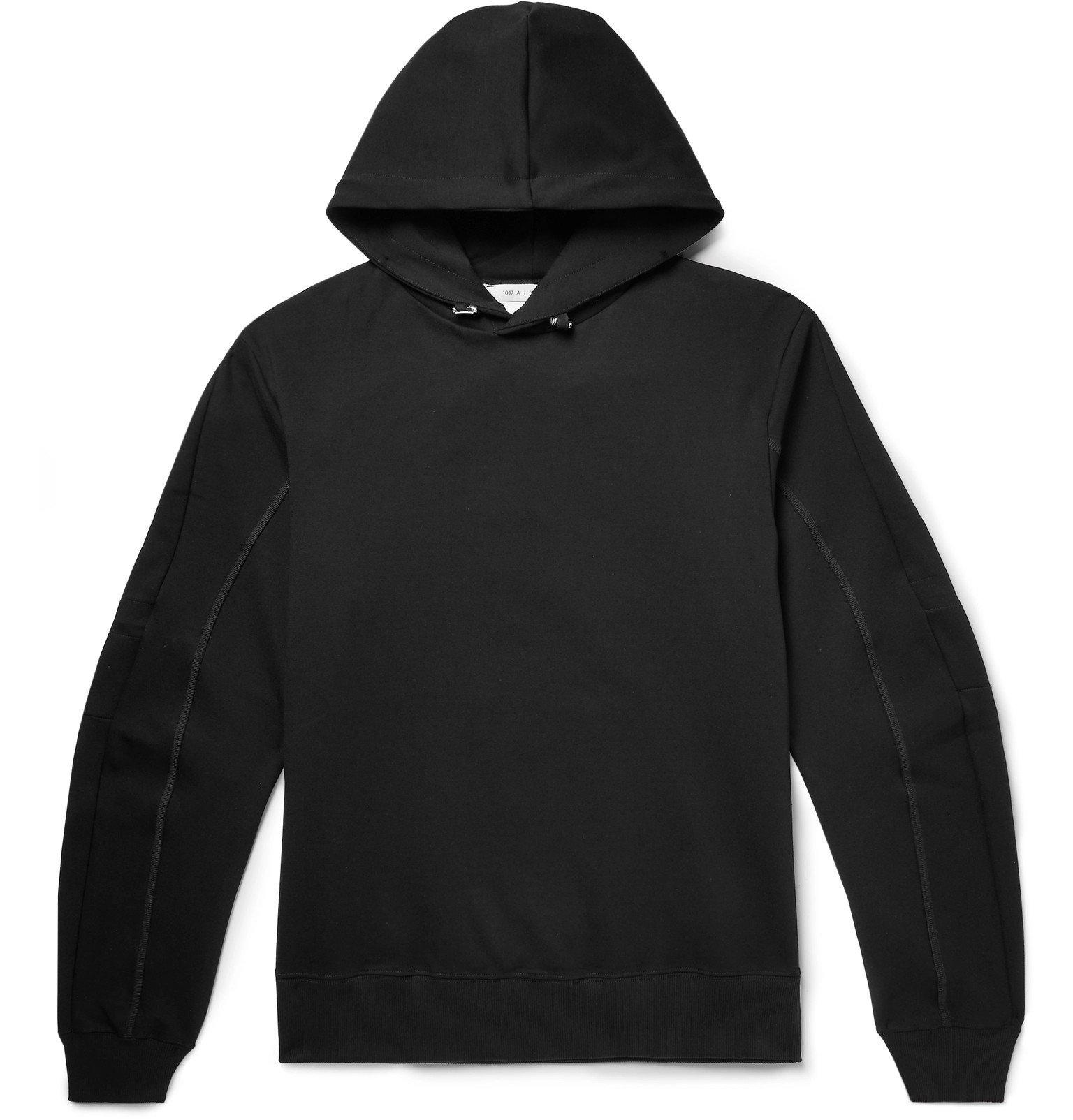1017 ALYX 9SM - Stretch-Jersey Hoodie - Black
