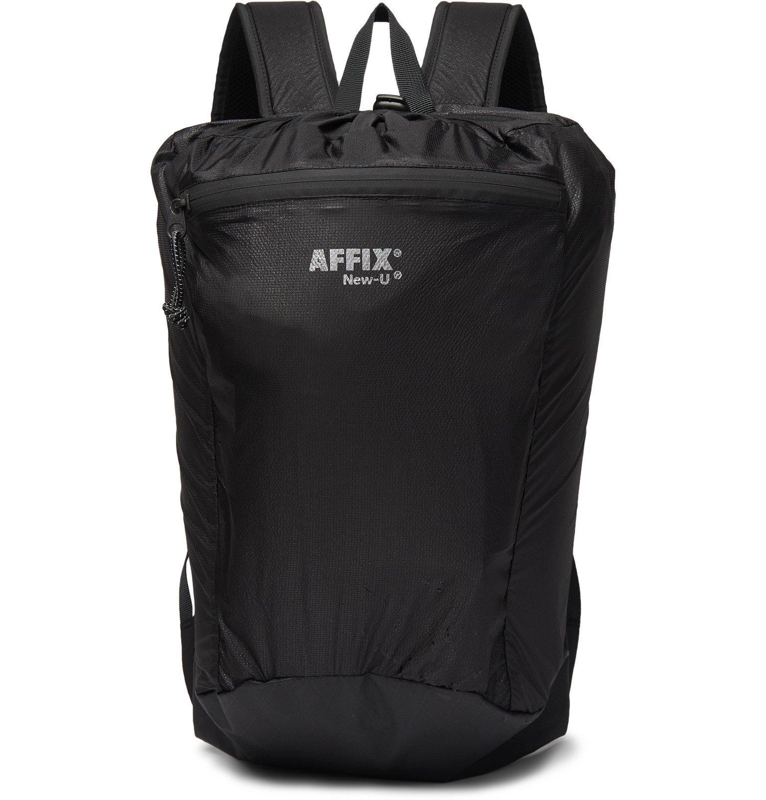 Photo: AFFIX - Nylon Backpack - Black