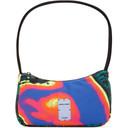 MCQ Multicolor Energy Field Print BPM Shoulder Bag