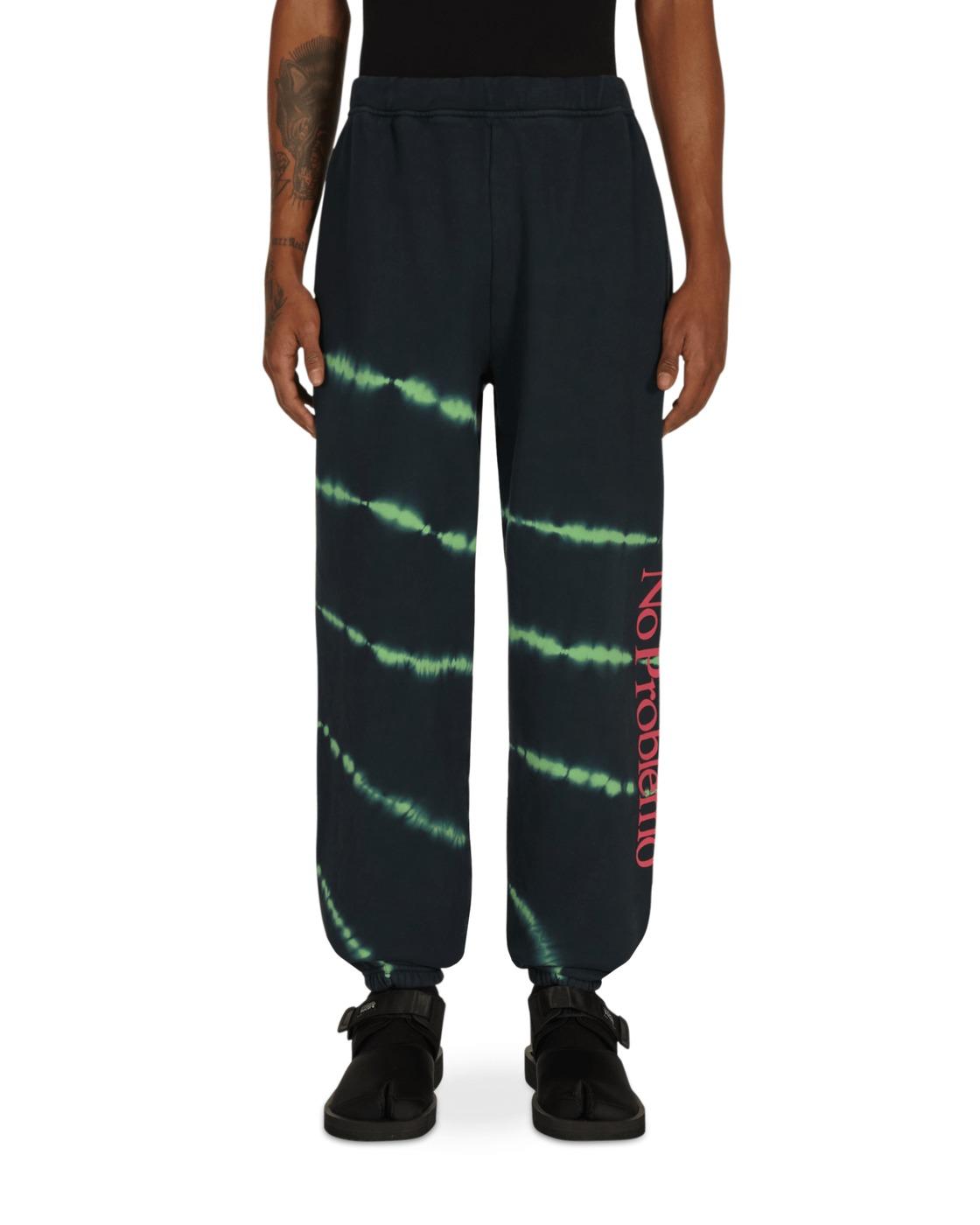 Photo: Aries Tie Dye No Problemo Sweatpants Green