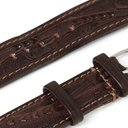 RRL - Tooled Leather Watch Strap - Brown