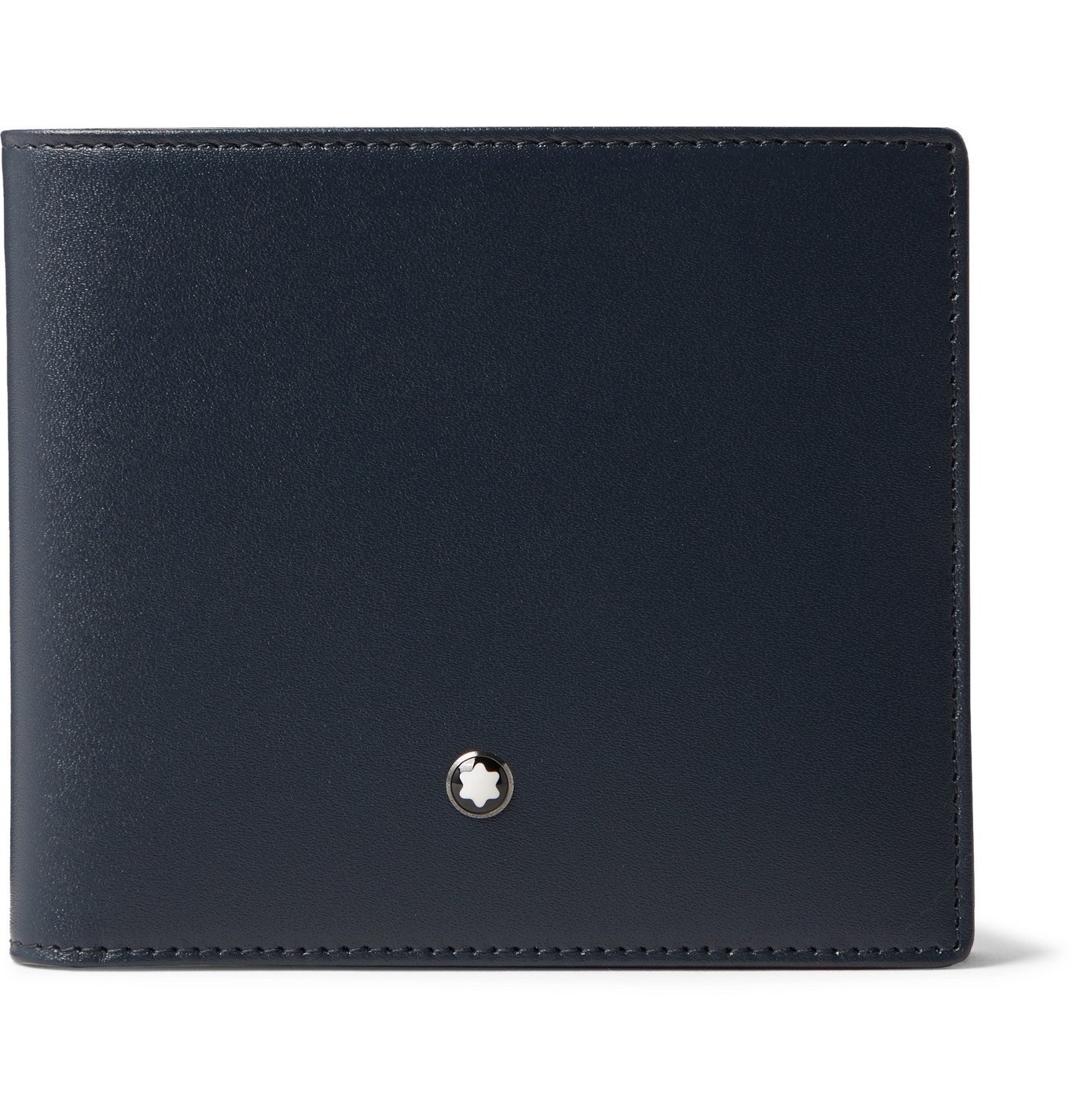 Photo: Montblanc - Leather Billfold Wallet - Blue