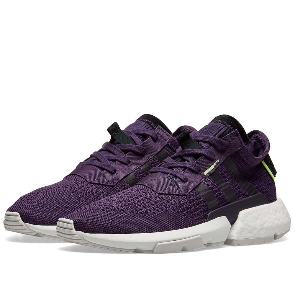 Women's Adidas POD-S3.1 Legend Purple & Hi-Res Yellow