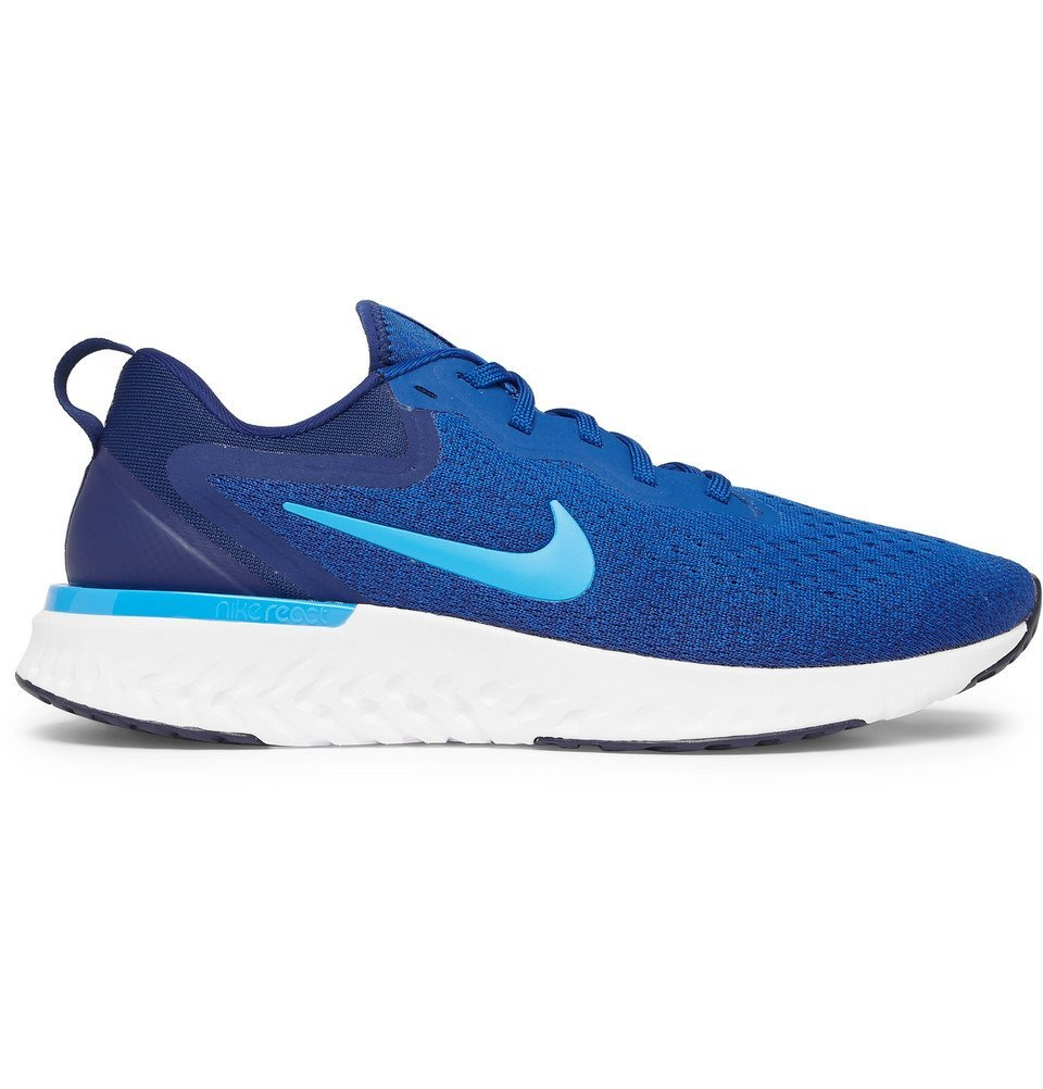 Photo: Nike Running - Odyssey React Flyknit Sneakers - Blue