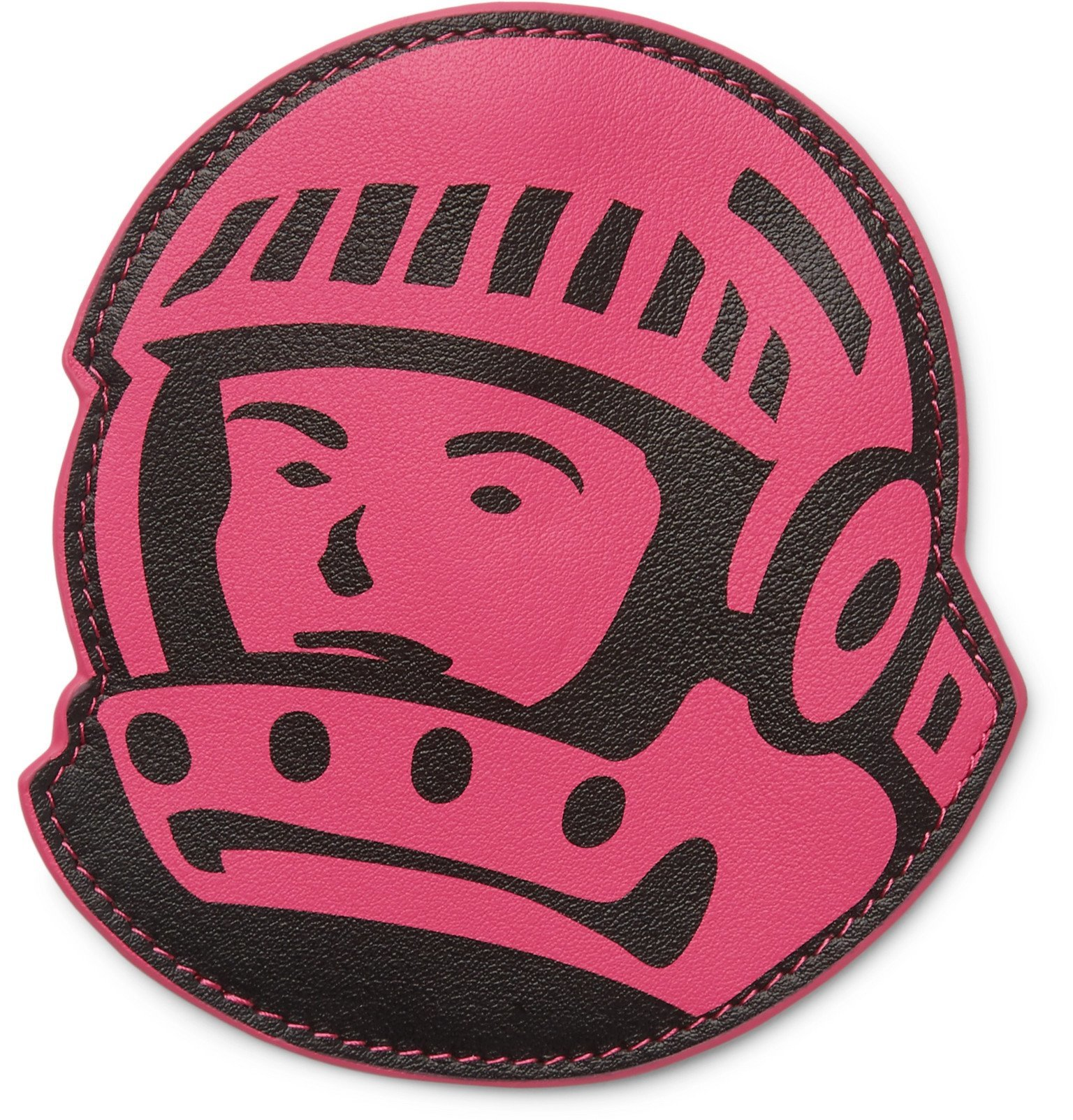 Photo: Billionaire Boys Club - Astronaut Full-Grain Leather Coin Wallet - Pink