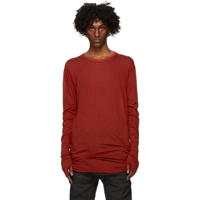 Photo: Boris Bidjan Saberi Red Object Dyed T-Shirt
