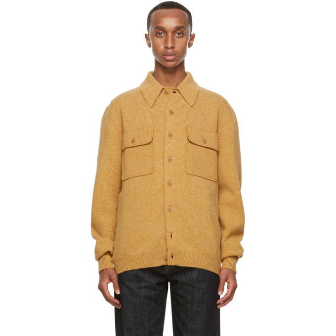 Photo: Lemaire Beige Overshirt Jacket