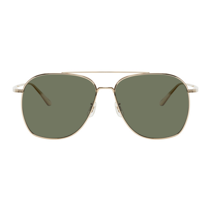 Photo: The Row Silver and Grey Ellerston Sunglasses