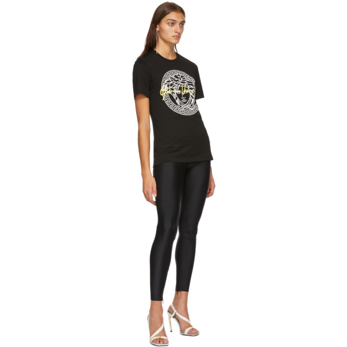 Versace Black Signature Medusa T-Shirt