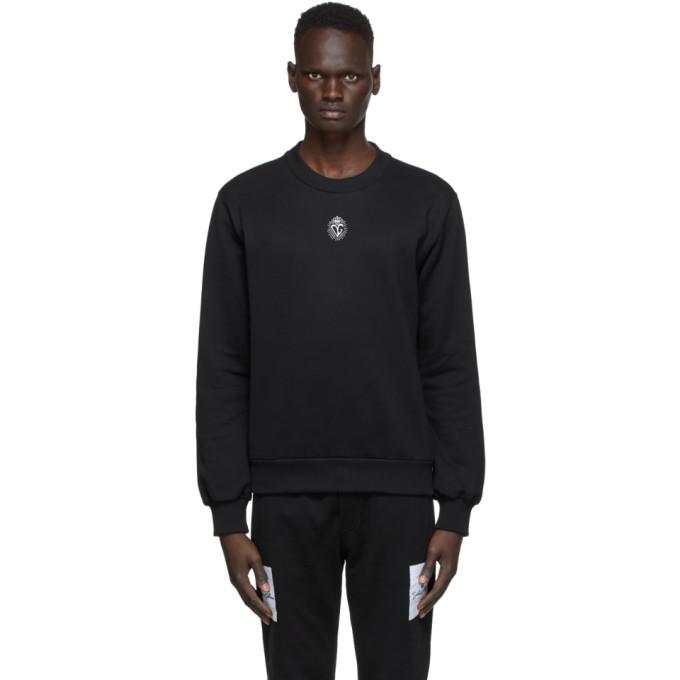 Photo: Dolce and Gabbana Black Heart Crown Sweatshirt