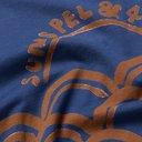 Sunspel - 45R Logo-Print Cotton-Jersey T-Shirt - Blue