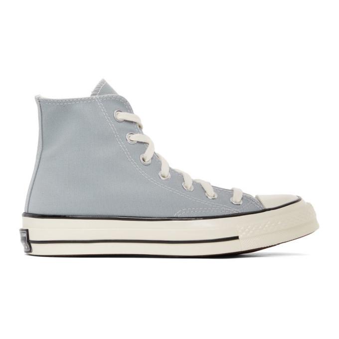 Photo: Converse Grey Seasonal Color Chuck 70 High Sneakers