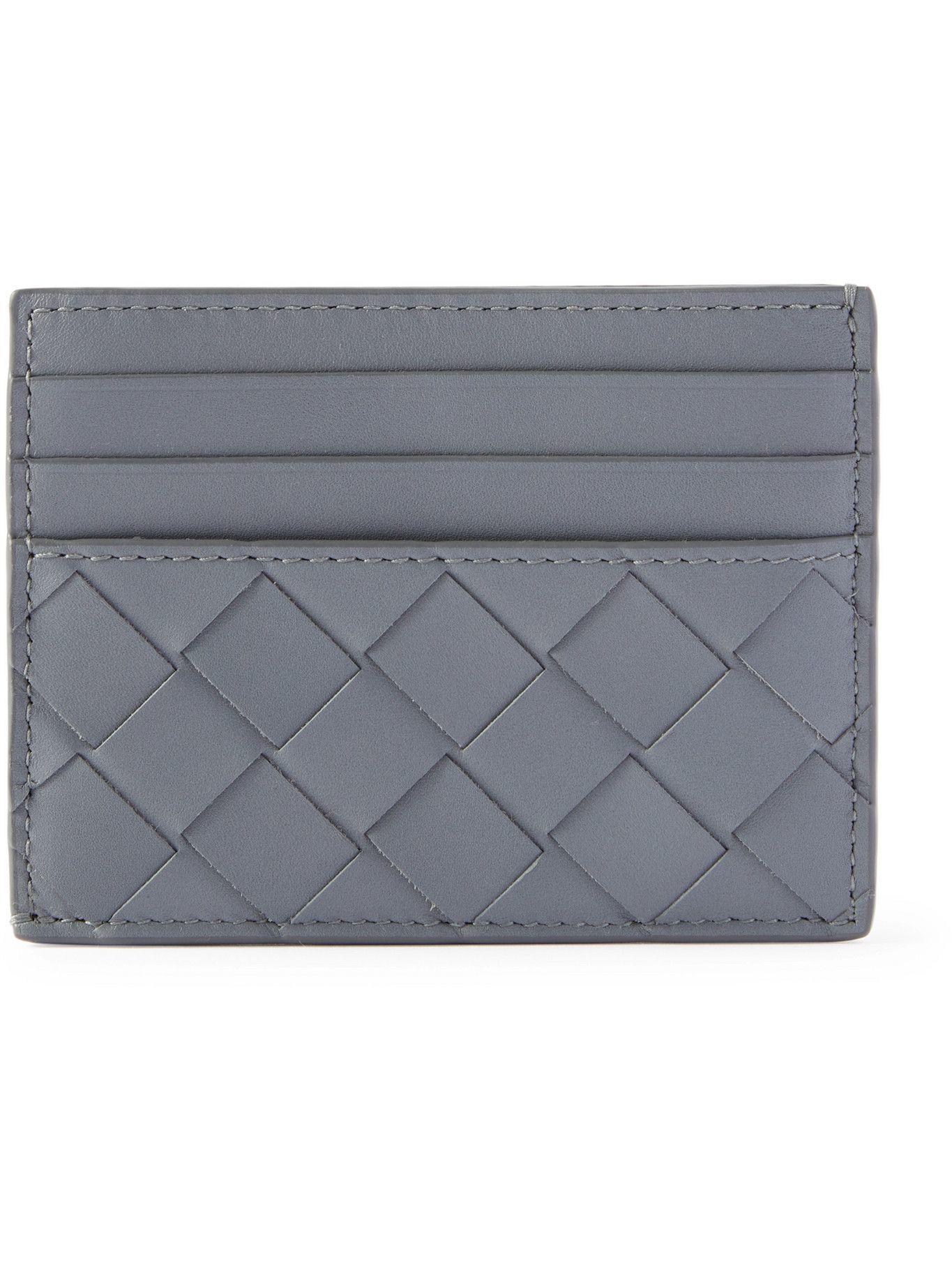 Bottega Veneta - Intrecciato Leather Cardholder