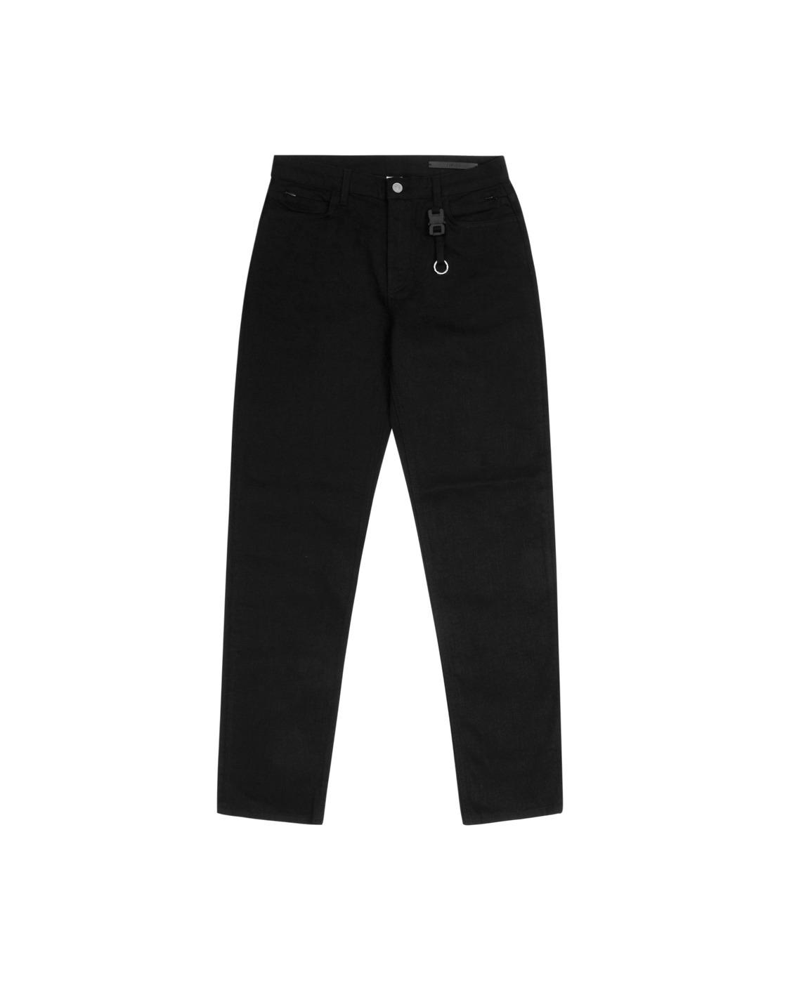 Photo: 1017 Alyx 9sm Classic Nylon Buckle Denim Pants Black