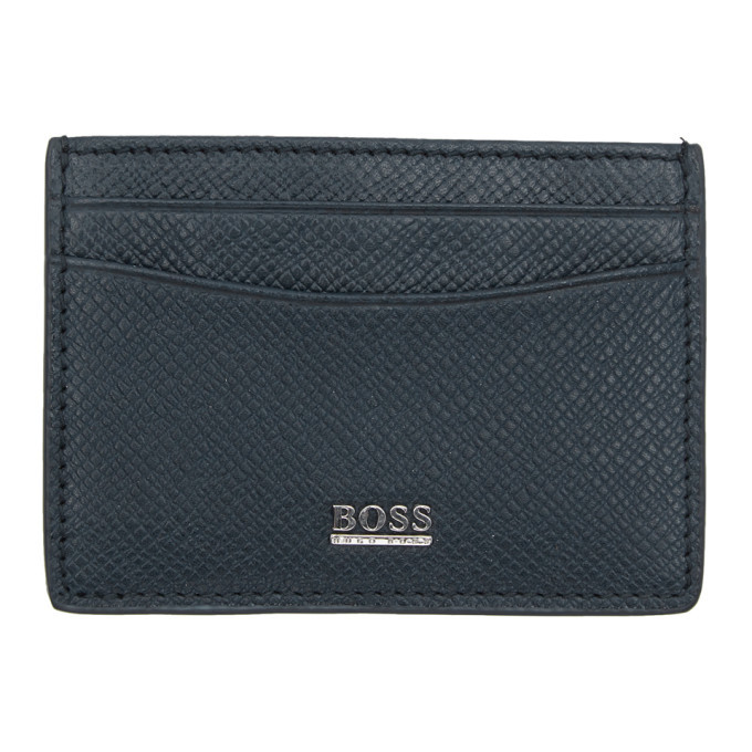 Photo: Boss Blue Signature Card Holder