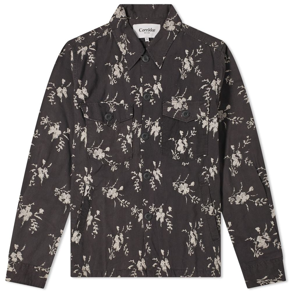 Corridor Floral Military Jacket