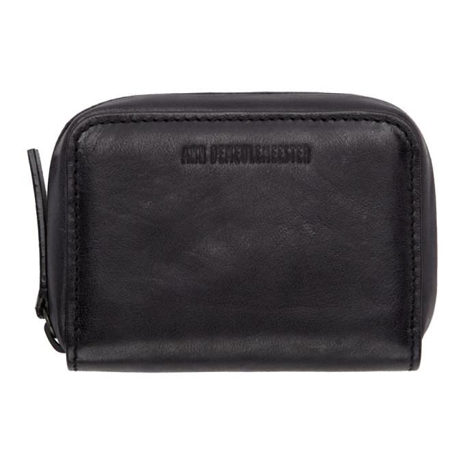 Photo: Ann Demeulemeester Black Leather Alvise Wallet