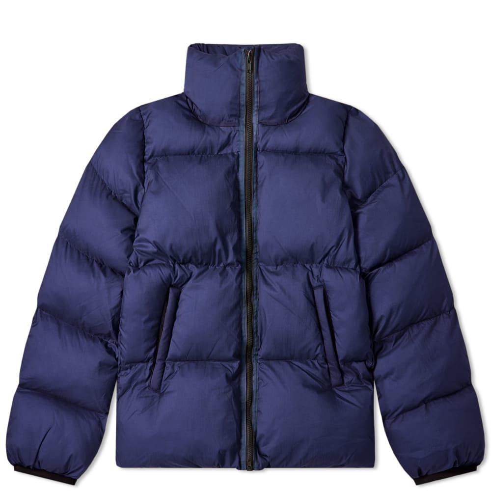 Photo: MKI Nylon Short Bubble Jacket Navy