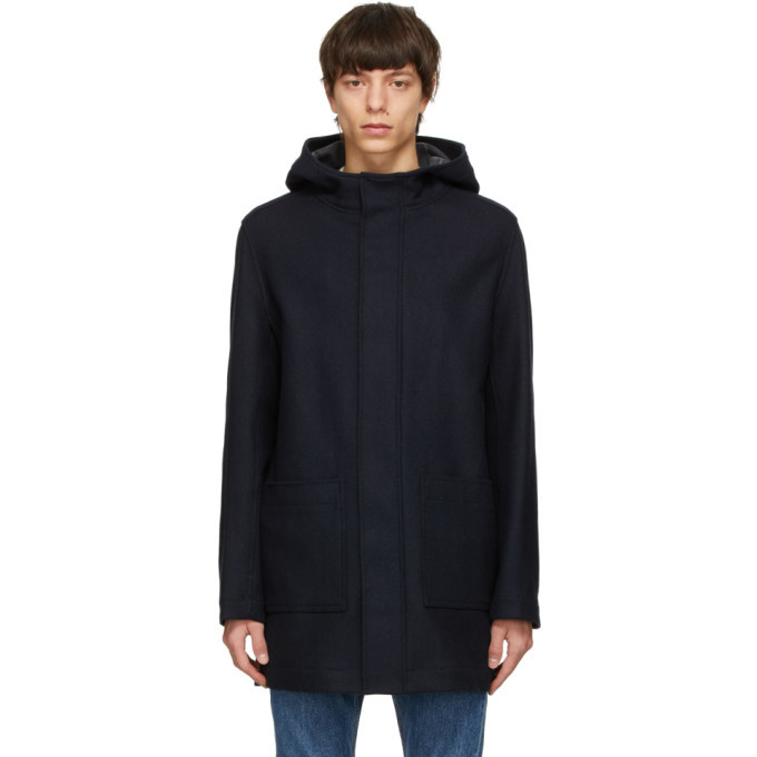 Photo: A.P.C. Navy Tony Parka