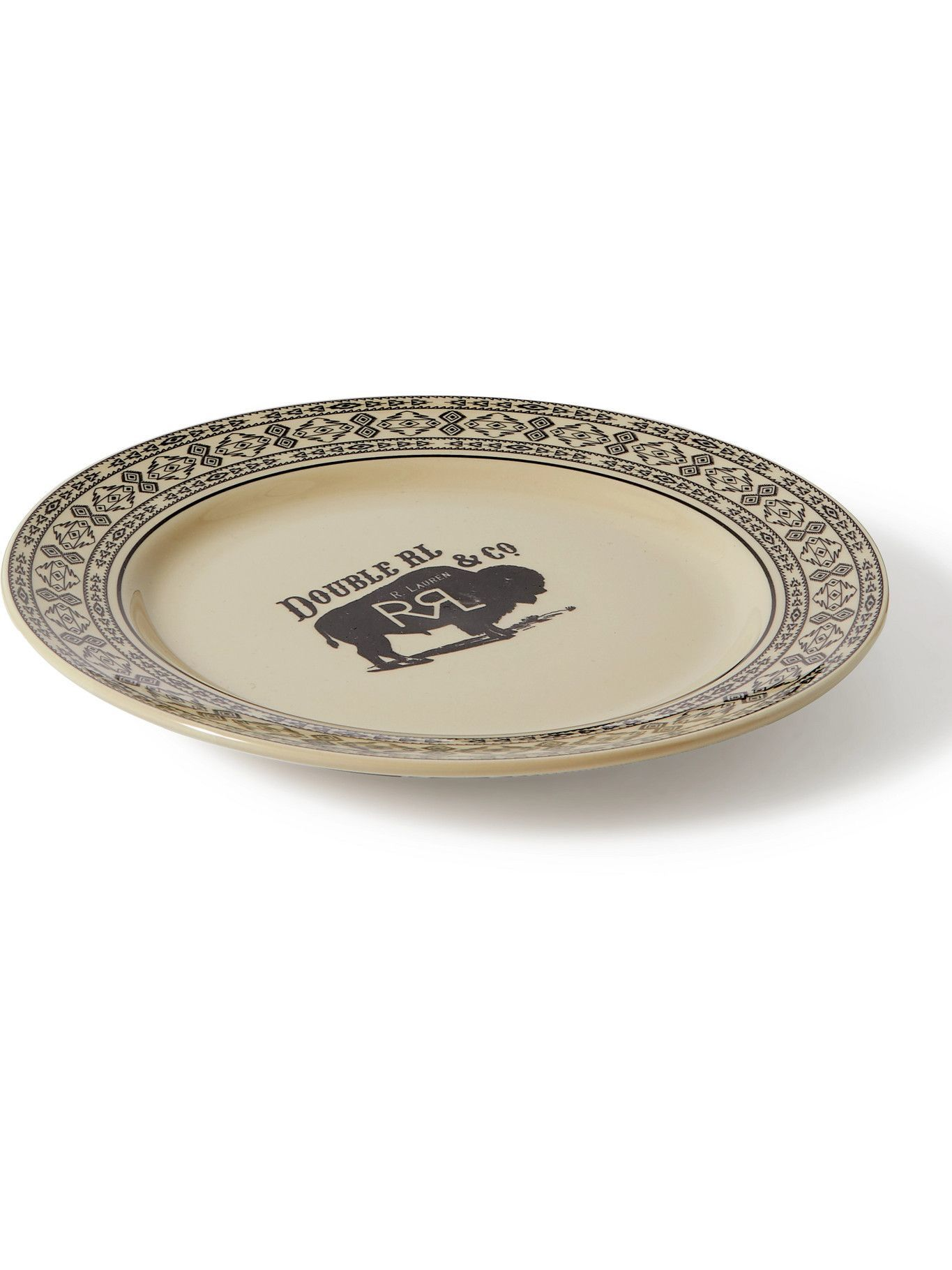 Photo: RRL - Printed Ceramic Plate