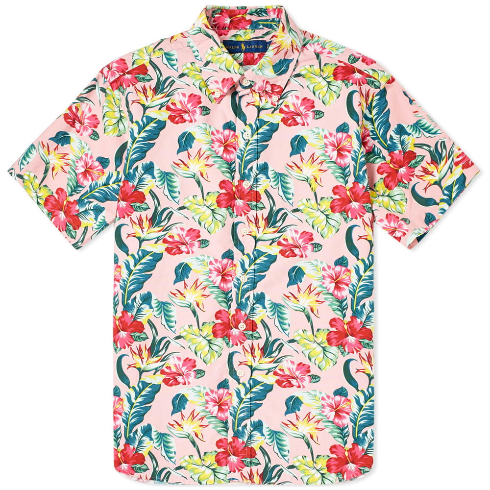 Photo: Polo Ralph Lauren Short Sleeve Floral Button Down Oxford Shirt
