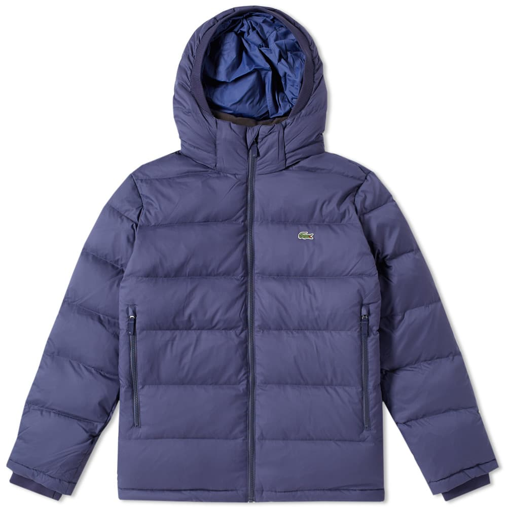Photo: Lacoste Hooded Down Jacket