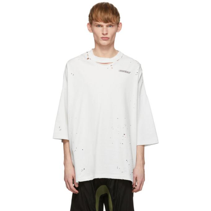 Photo: Unravel Off-White Motion Vintage J Box T-Shirt