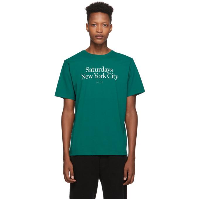 Photo: Saturdays NYC Green Miller Standard T-Shirt