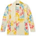 The Elder Statesman - Tie-Dyed Cashmere Cardigan - Multi