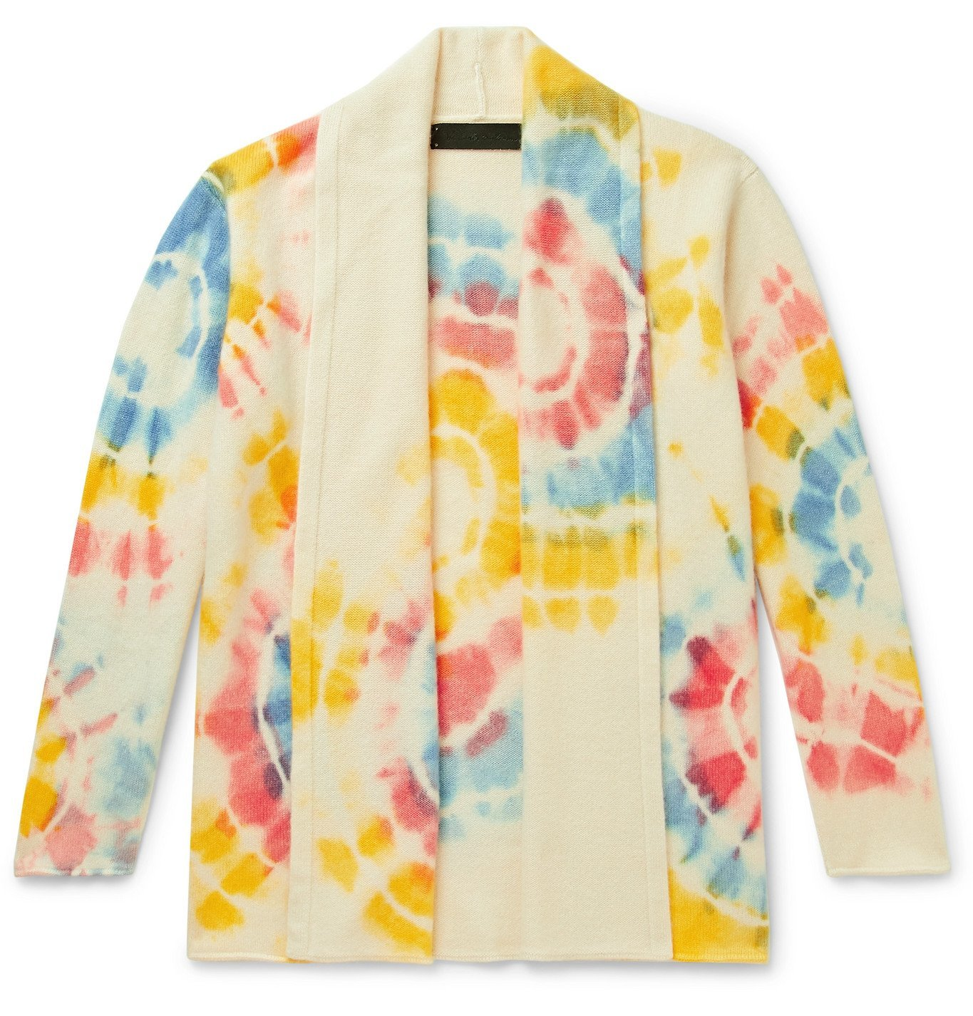 Photo: The Elder Statesman - Tie-Dyed Cashmere Cardigan - Multi