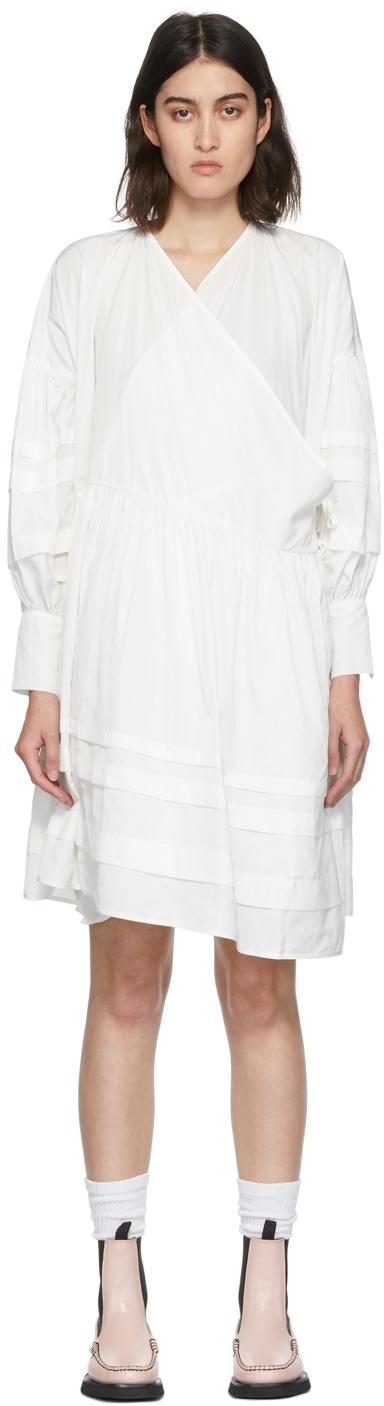 Photo: Cecilie Bahnsen White Amalie Wrap Dress
