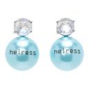 Jiwinaia Blue Heiress Earrings
