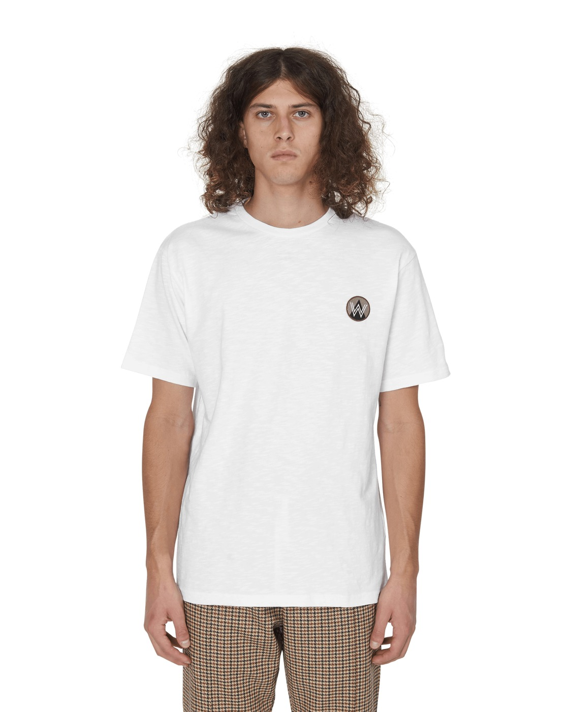 Photo: Wood Wood Slatert Shirt Bright White