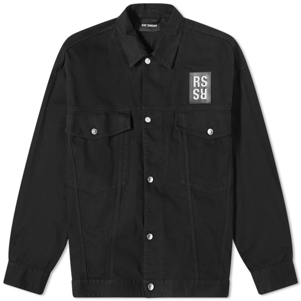 Photo: Raf Simons Oversized Denim Jacket