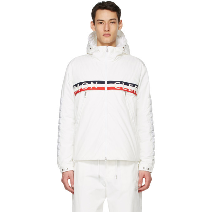 Photo: Moncler White Down Olargues Jacket