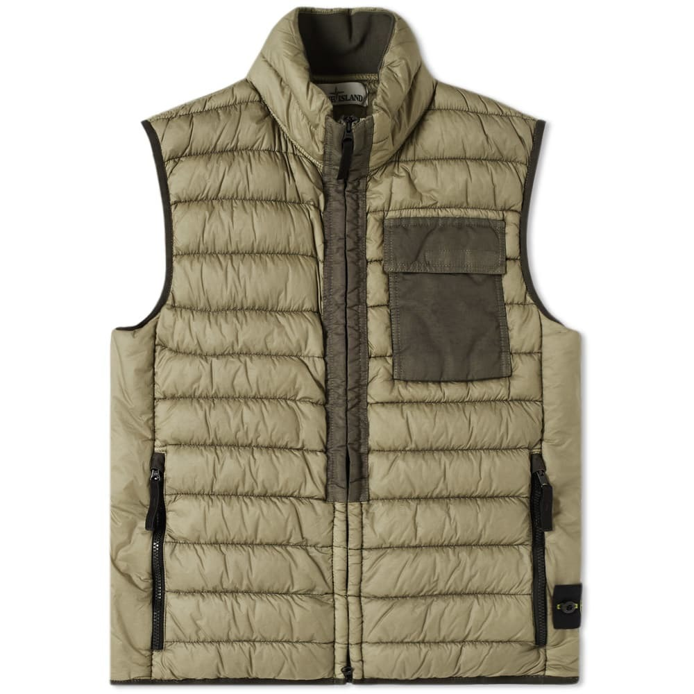 Photo: Stone Island Garment Dyed Down Filled Gilet