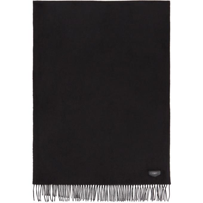 Photo: Givenchy Black Antigona Logo Scarf