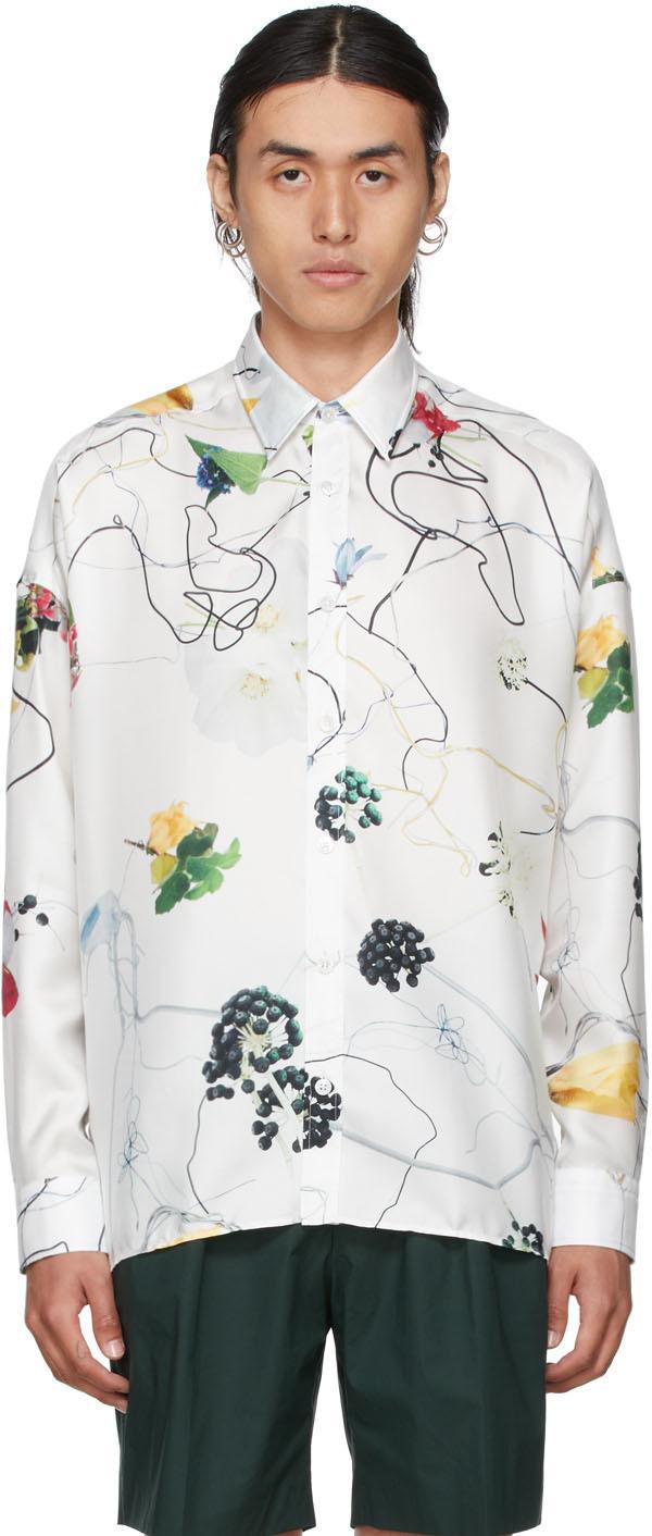 Photo: Hugo White Floral Modena Shirt