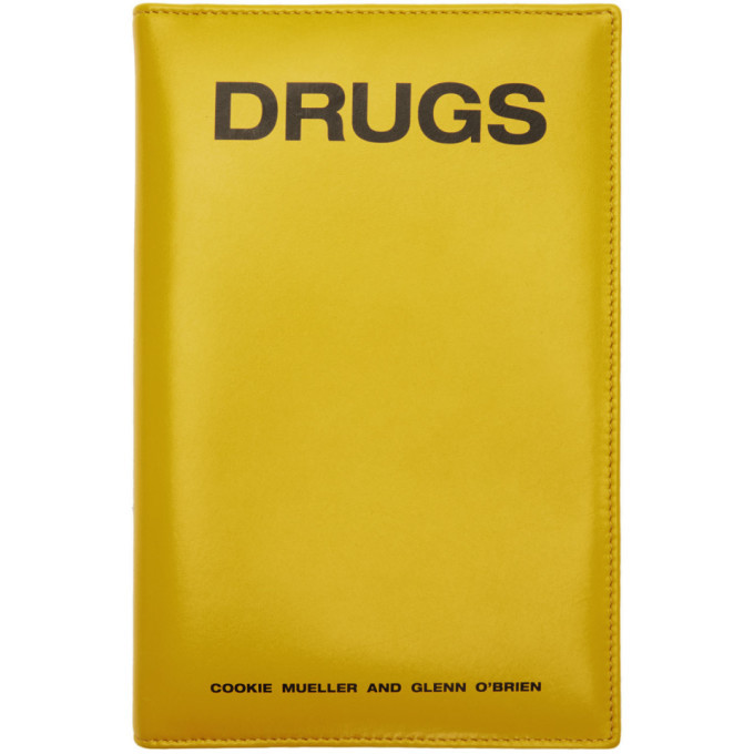 Photo: Raf Simons Yellow Zipped Book Pouch