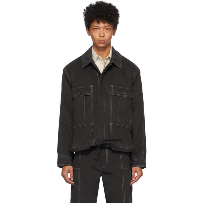 Photo: Jacquemus Grey La Veste Esterel Jacket