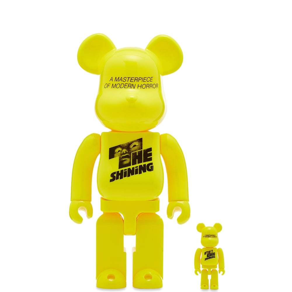 Photo: Medicom The Shining Poster Version Be@rbrick Set