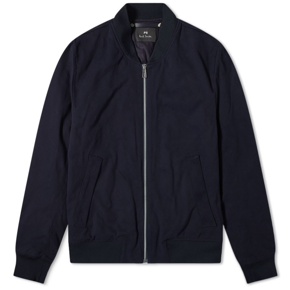 Photo: Paul Smith Moleskin Zip Bomber Jacket