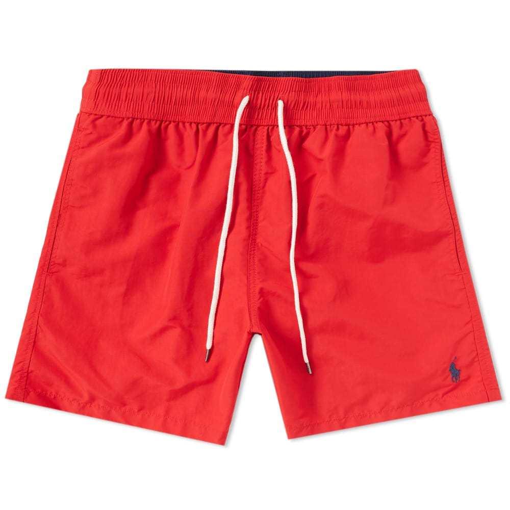 Photo: Polo Ralph Lauren Classic Traveller Swim Short Red