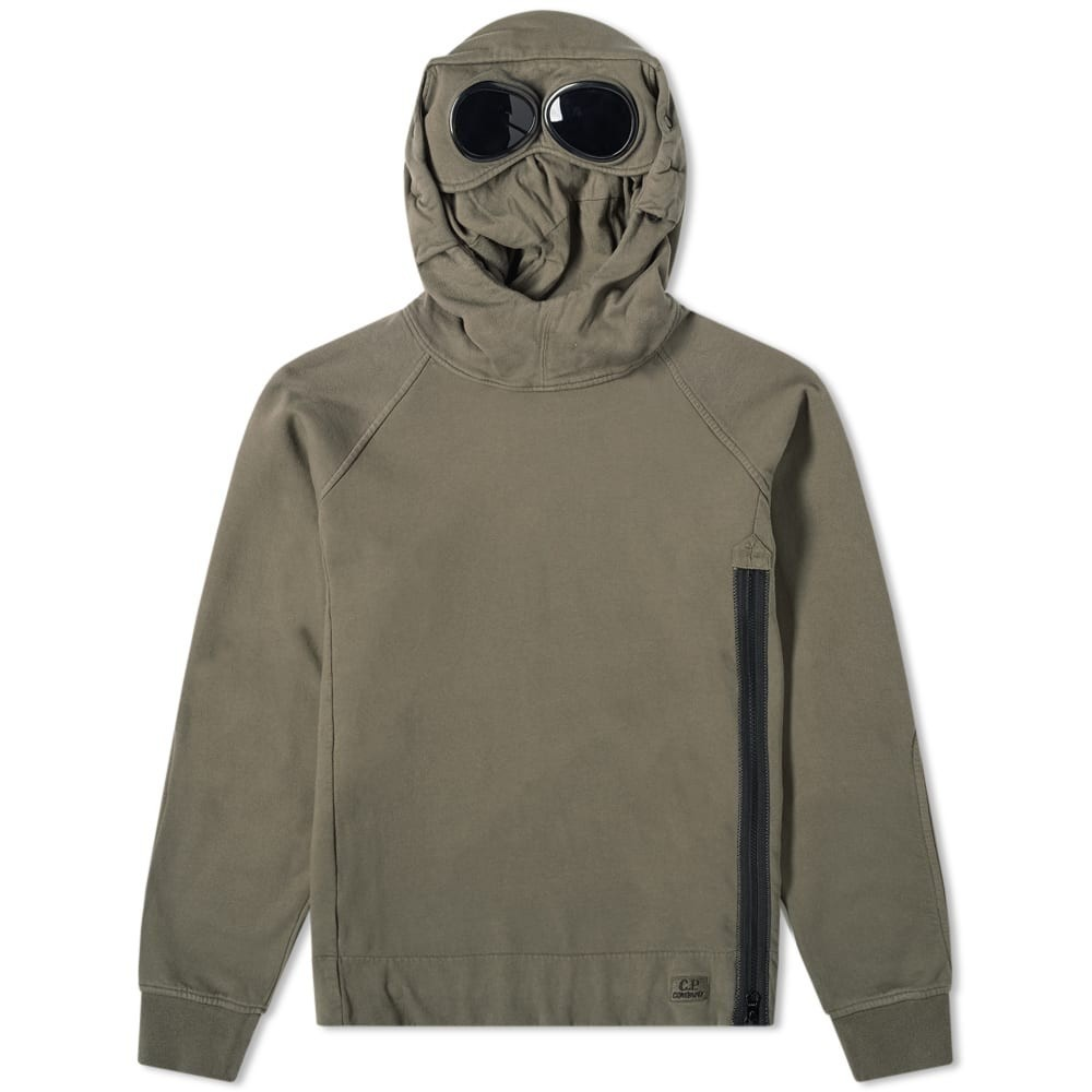 Photo: C.P. Company Side Zip Goggle Popover Hoody
