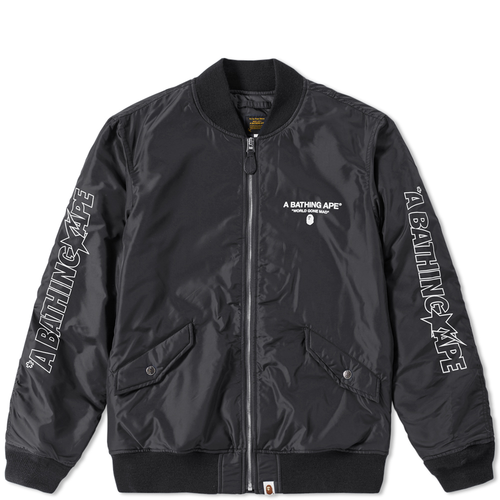 Photo: A Bathing Ape Bomber Jacket